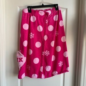 PINK by Victoria's Secret towel coverup NWOT